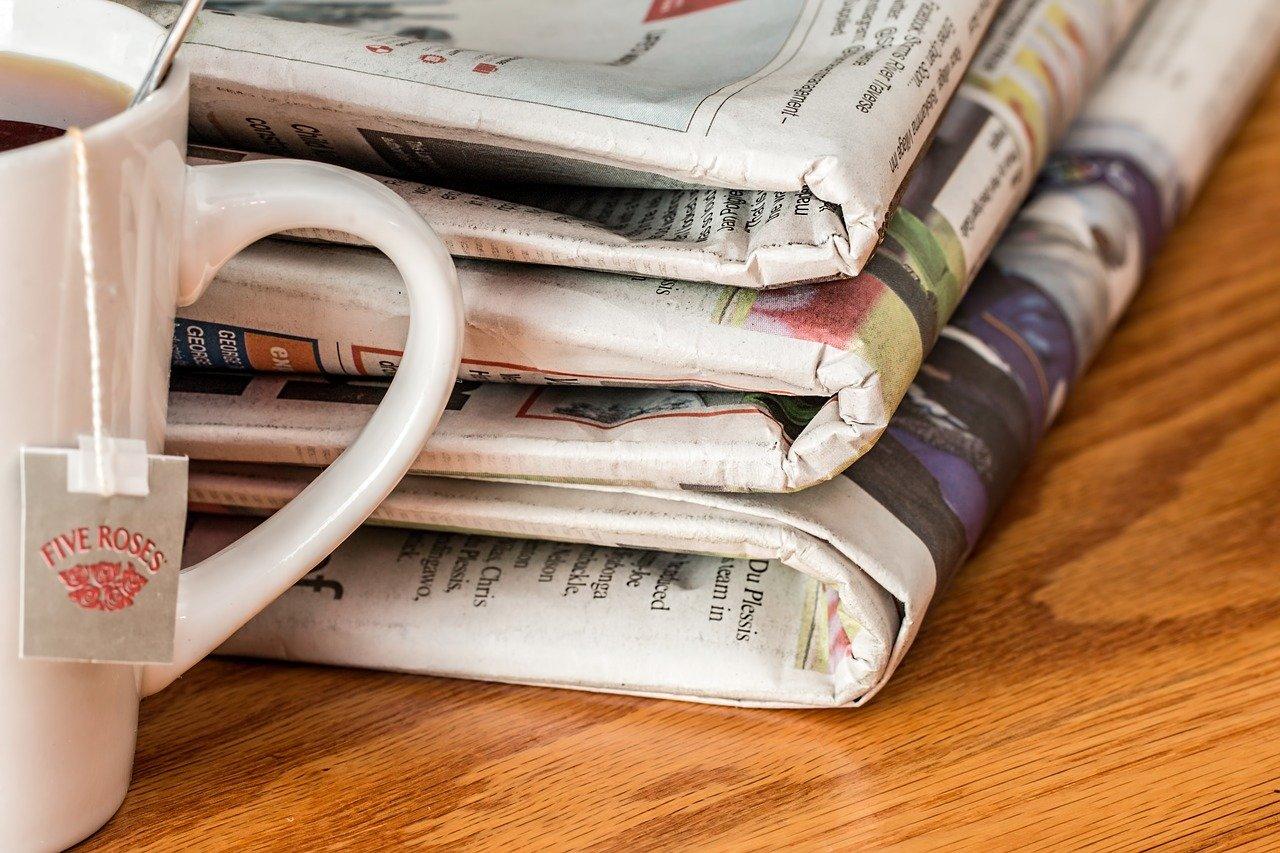 newspaper, news media, print media